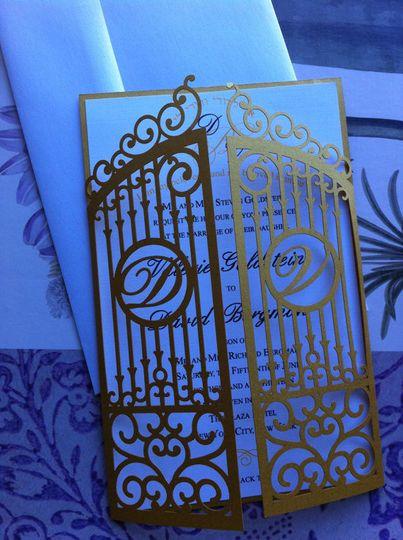 Opening gate design