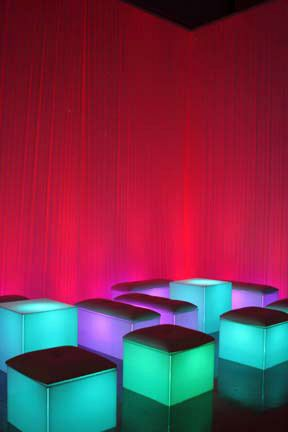 lighted lounge furniture for rent