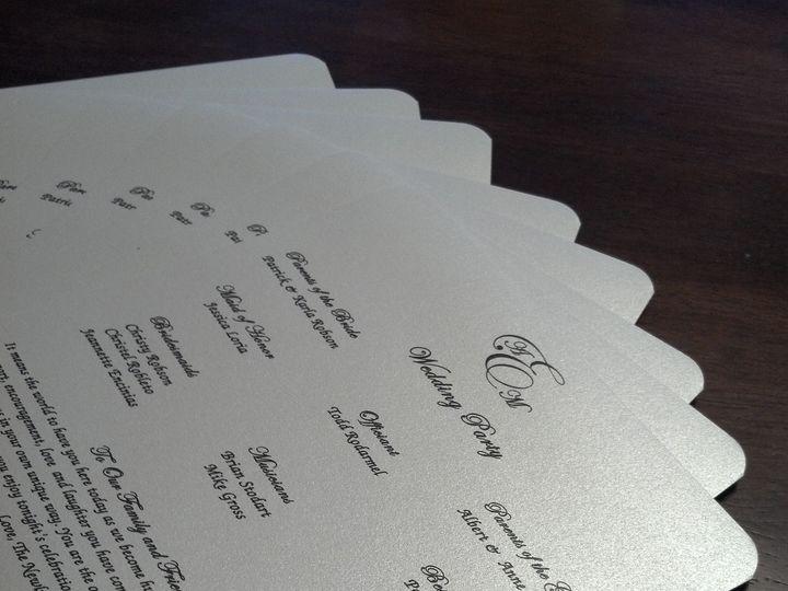 Tmx 1366036959557 Programs Huntington Beach, CA wedding invitation