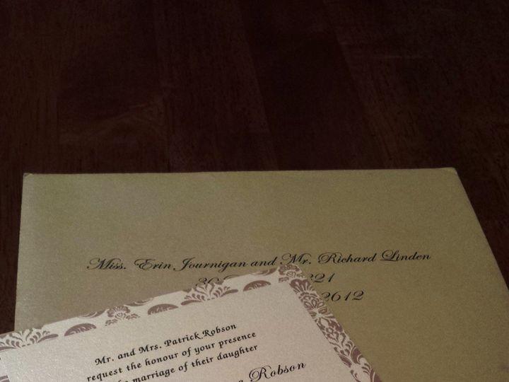 Tmx 1372862922526 20130520201900 Huntington Beach, CA wedding invitation