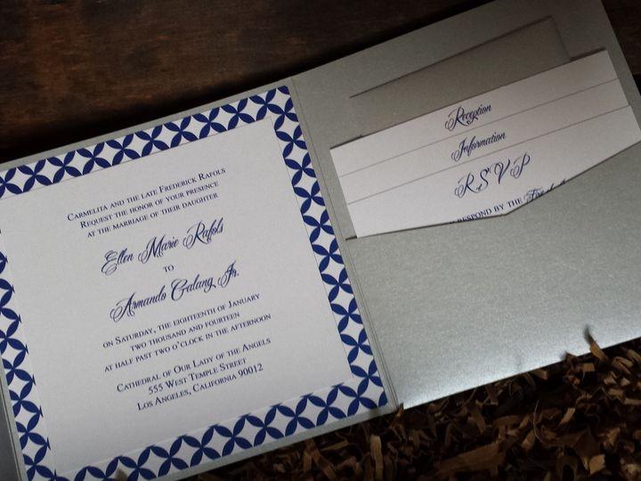 Tmx 1389895279302 2014011008295 Huntington Beach, CA wedding invitation