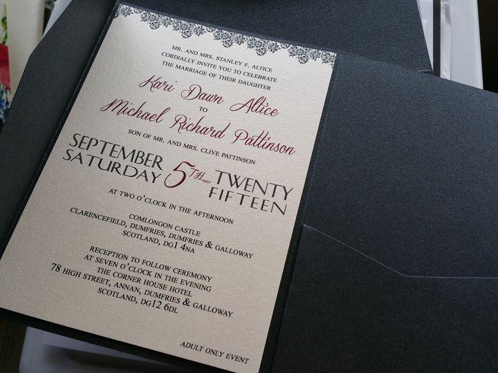 Tmx 1428416005774 20150227144505 Huntington Beach, CA wedding invitation