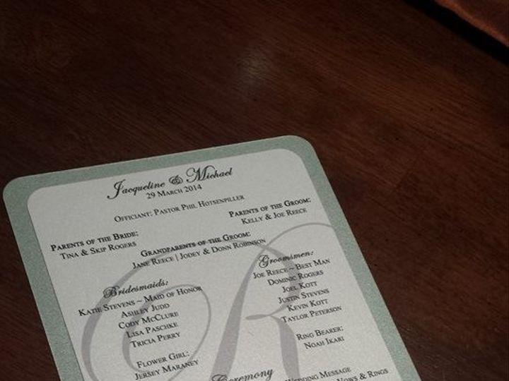 Tmx 1437332046238 1601584101521402146377101483058368n Huntington Beach, CA wedding invitation