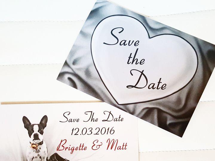 Tmx 1467820629979 Img20160515071650 Huntington Beach, CA wedding invitation