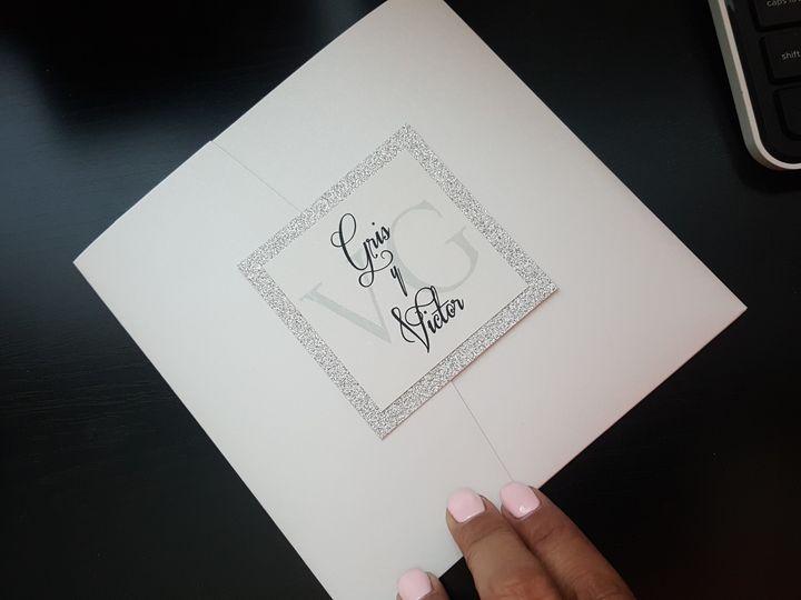 Tmx 1507822397959 20170808174411 Huntington Beach, CA wedding invitation