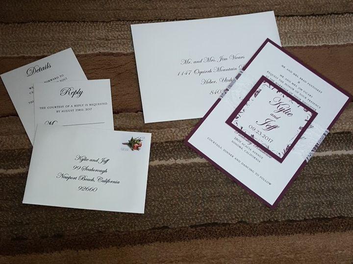 Tmx 1507822489736 20170623153022 Huntington Beach, CA wedding invitation