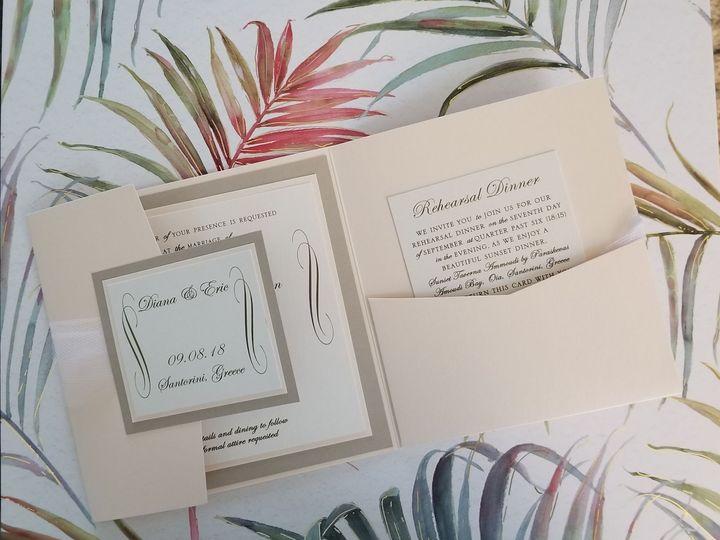 Tmx 1528904466 A6c60bf4896c7942 1528904465 0e4461b6255dfb96 1528904463557 2 20180511 100211 Huntington Beach, CA wedding invitation