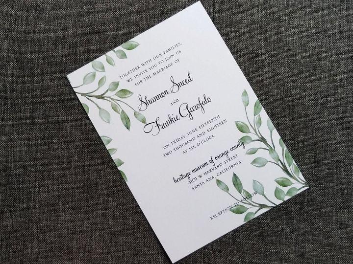 Tmx 1528904749 34f637cc52f14c6e 1528904747 8b0b4e946dc00417 1528904746590 9 Invite 2 Huntington Beach, CA wedding invitation