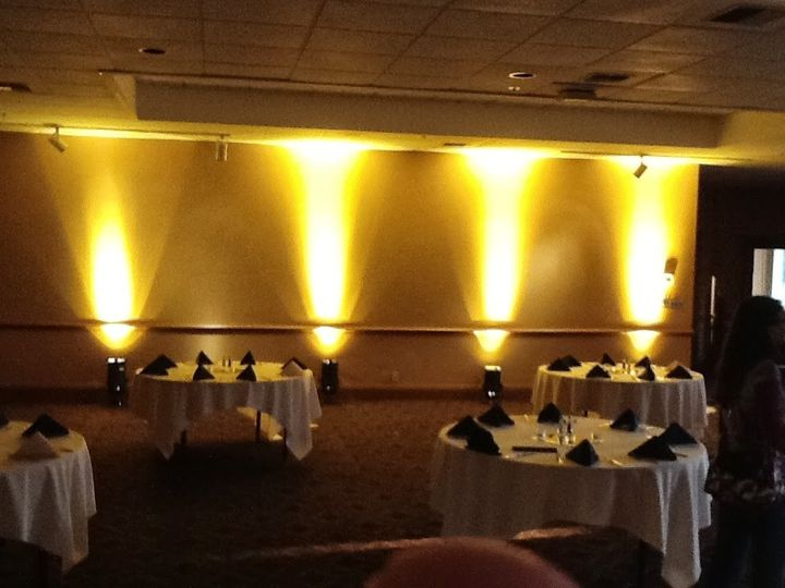 Bear Creek Golf & Country Club. Up/Lighting can enhance your venue to give it a personal touch.
