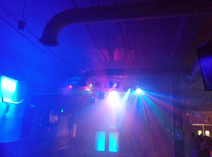 DA Productions DJ & Lighting Services know how to use lighting to provide that party atmosphere....