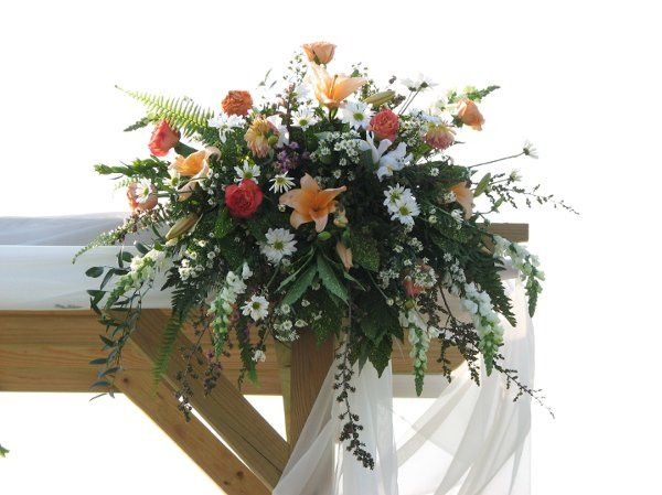 Wedding arbor decor