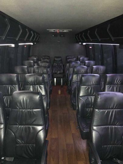 Interior mini bus