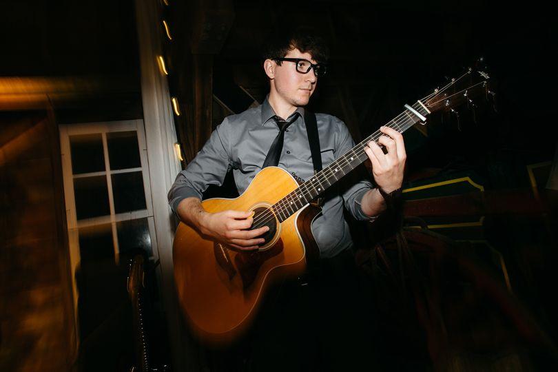Band guitarist