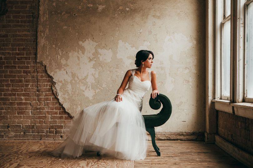 Bridal portrait Drake Studio