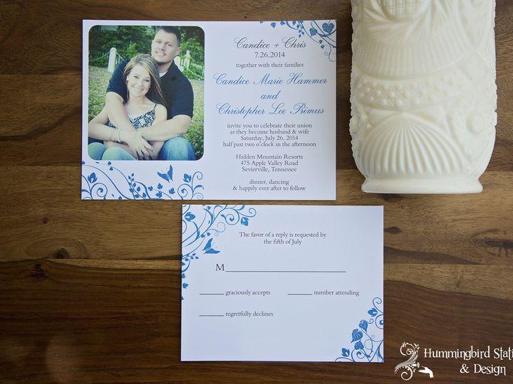 Tmx 1417291978038 Wmhummingbird Stationery 040 Lompoc wedding invitation