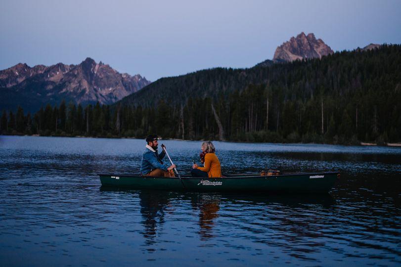 Redfish Lake Engagement