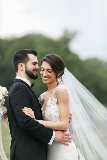 The newlyweds