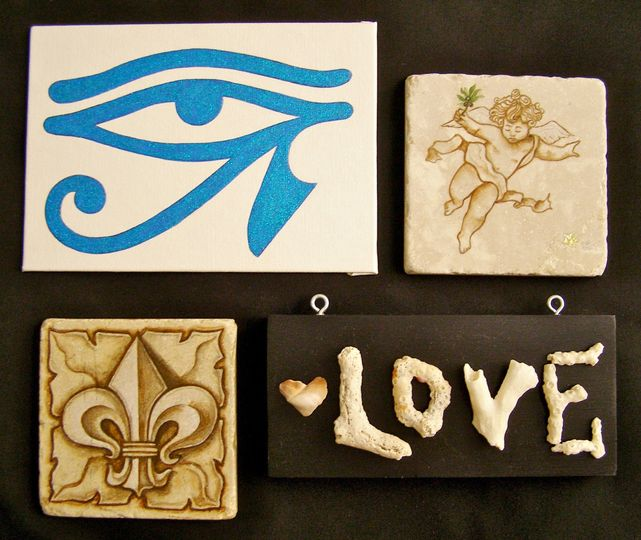 These are some ideas for custom favors or gifts from Missy's Painted Reef.  All pieces are created...