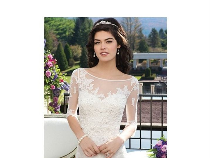 Tmx 1423074685082 Sincerity Bridal 3814 Bridgeville wedding dress
