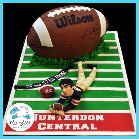 Tmx 1378088354978 Football Grooms Cake Dunellen wedding cake