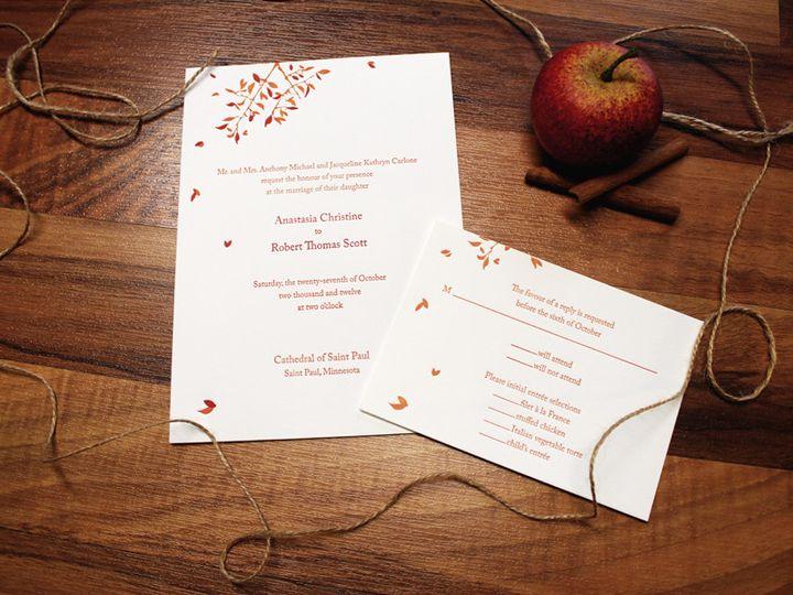 Tmx 1475463945977 Round 2 Saint Paul wedding invitation