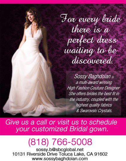 sossysfashion bridal marketing