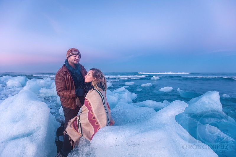 tanya and rob in iceland