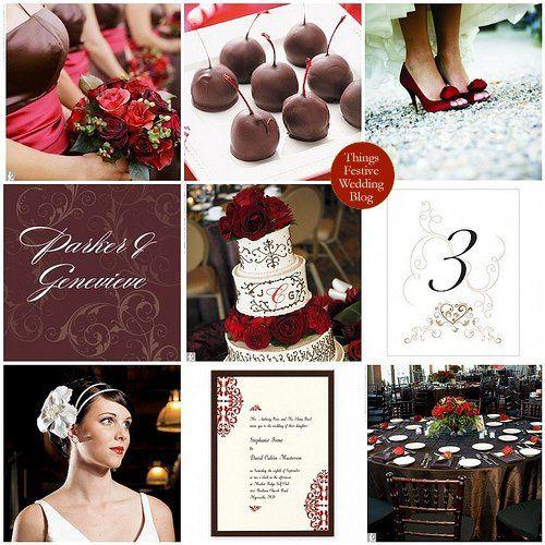 Tmx 1302255617129 Brownandredfallwedding Dearborn wedding invitation