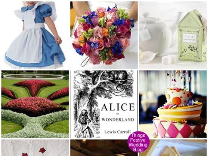 Tmx 1302255650131 Aliceinwonderlandweddingthemelarge Dearborn wedding invitation