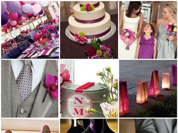 Tmx 1302256715317 Purpleandfuchsiawedding Dearborn wedding invitation