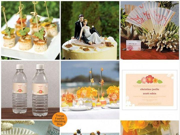 Tmx 1302256931955 Orangeandyellowbeachwedding Dearborn wedding invitation