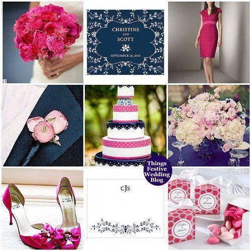 Tmx 1302257012334 Navypinkandfuchsiaweddingtheme Dearborn wedding invitation