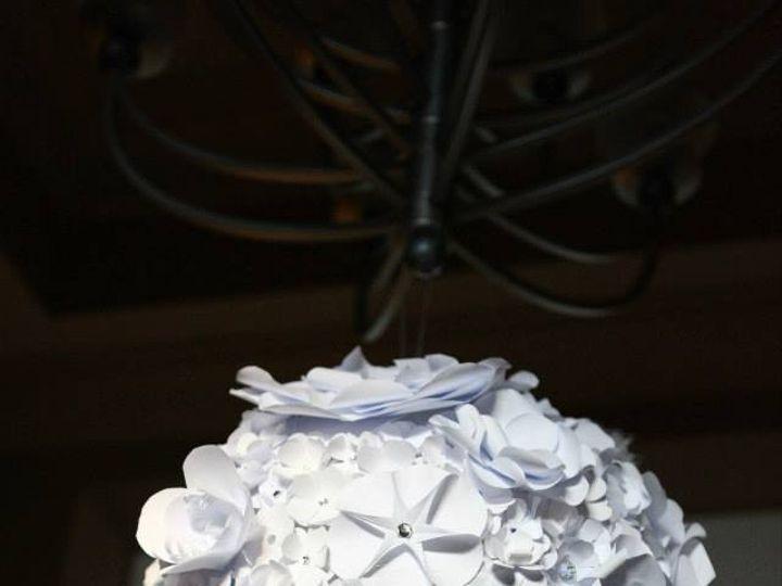 Tmx 1415983807012 Hanging Paper Flower Ball Rockville wedding eventproduction