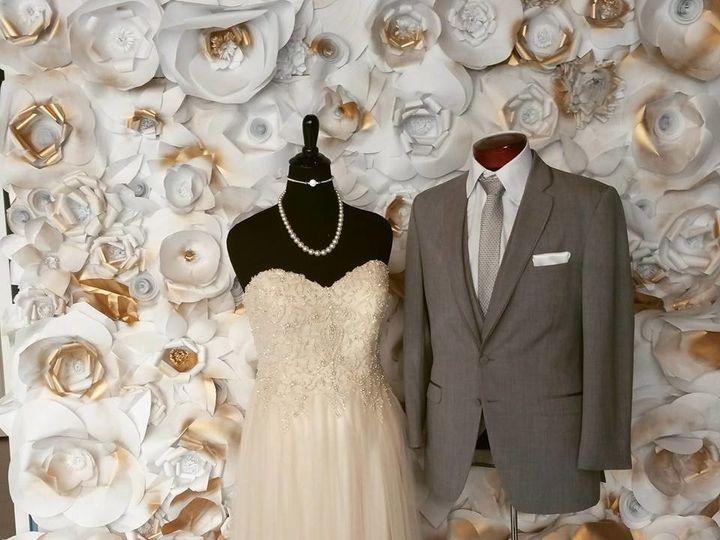 Tmx 1490978691908 Vintage Gold Paper Flower Backdrop Rockville wedding eventproduction