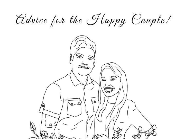 Tmx 1475102928253 Advicecardtemplate Brooklyn wedding favor