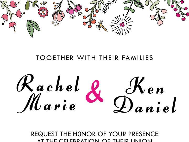 Tmx 1475103202512 Invitationtemplatefloralforrest Brooklyn wedding favor