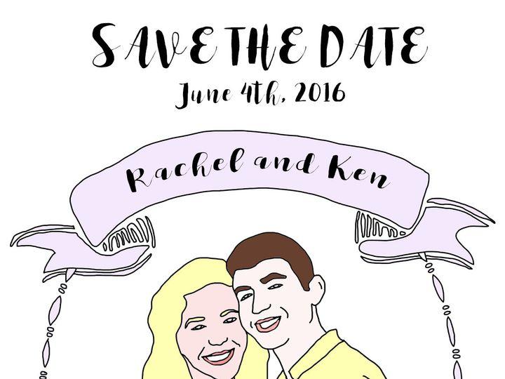 Tmx 1475103233147 Savethe Date Color Brooklyn wedding favor