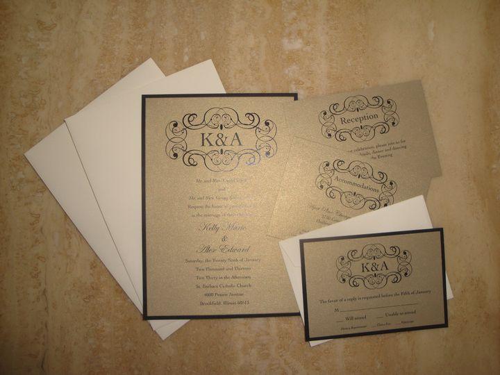 Tmx 1414170666231 Dsc03200 Waukesha wedding invitation