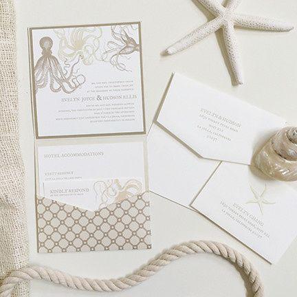 Tmx 1453933917051 Under The Sea Wedding Invitation Waukesha wedding invitation