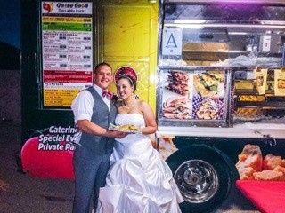 queso wedding photo