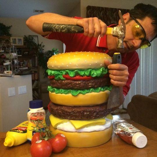 Customized burger