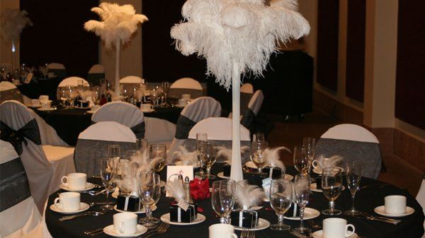 Carry-on your theme ceremony to your reception and create an ambience of romance and lush...