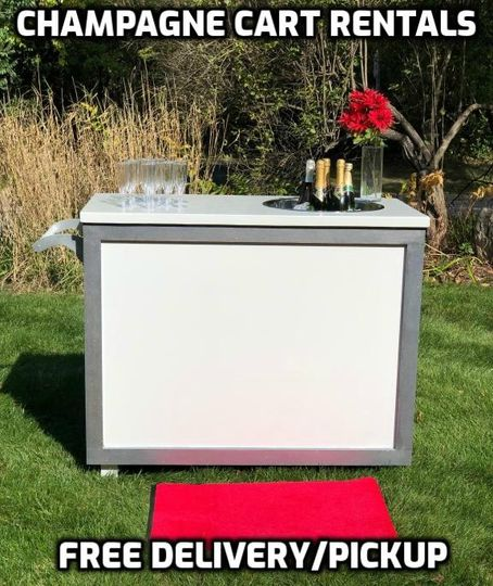 Champagne Party Cart