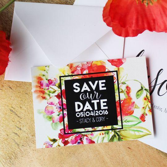 Catprint Invitations Rochester Ny Weddingwire