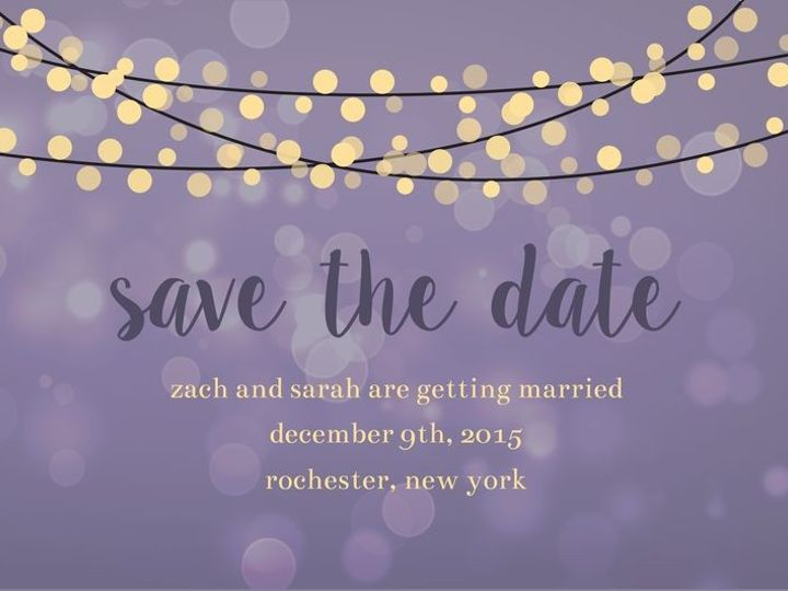 Tmx 1435330213855 240 Rochester, NY wedding invitation