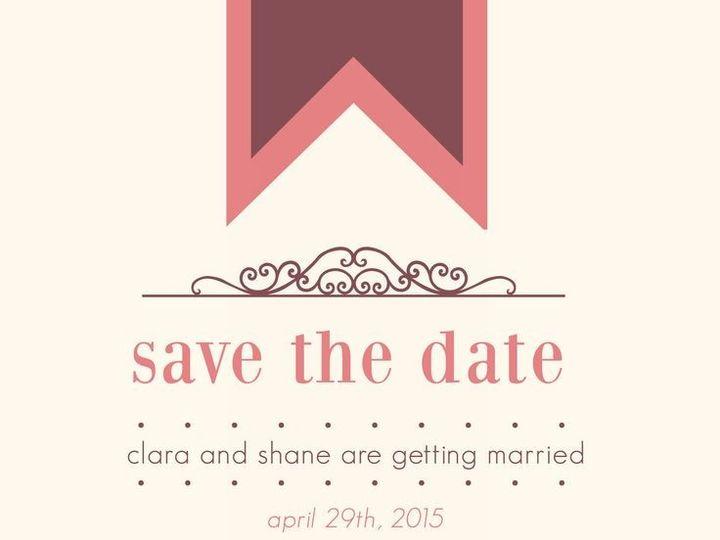 Tmx 1435330218930 241 Fairport, NY wedding invitation