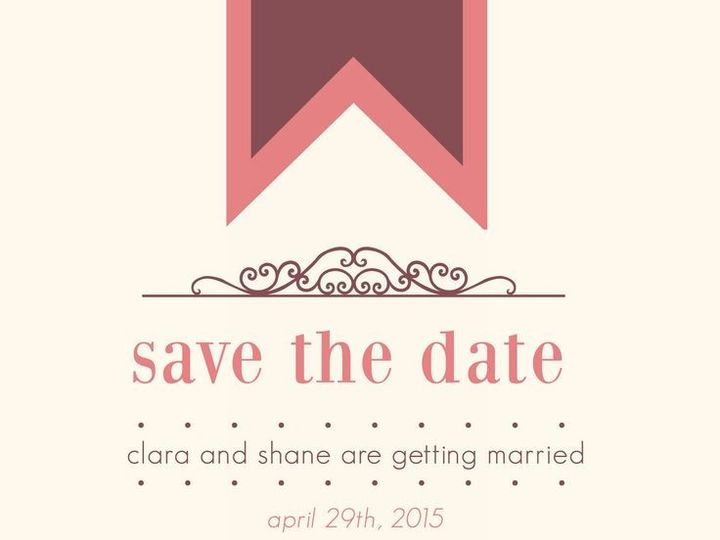 Tmx 1435330218930 241 Rochester, NY wedding invitation