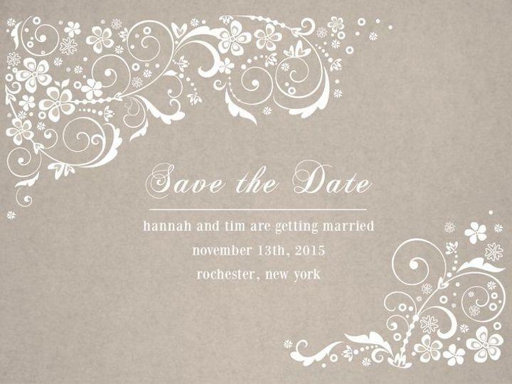 Tmx 1435330227895 246 Rochester, NY wedding invitation