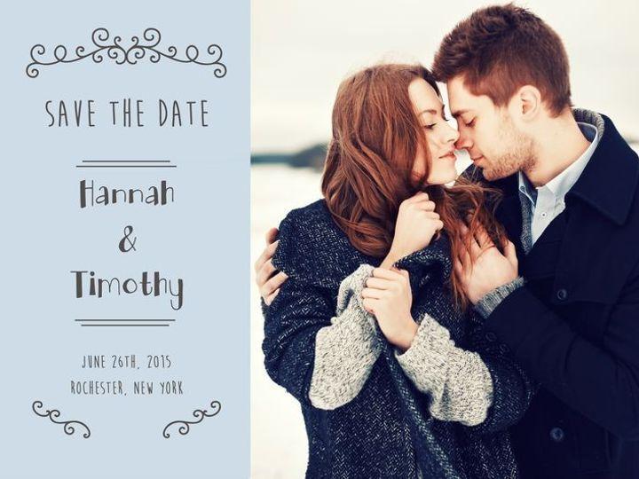 Tmx 1435330231898 248 Rochester, NY wedding invitation
