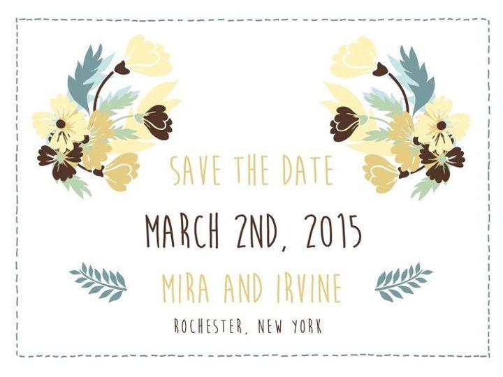 Tmx 1435330258856 288 Rochester, NY wedding invitation